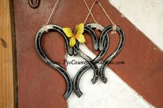 Large Heart- $38.95; Small Heart (no decorative accent)- $33.95  Country Creations | Horseshoe Products