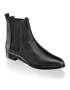 Lazzarini Glattleder-Boot - schwarz - Gratis Versand   Schuhe   Boots &  Stiefeletten  