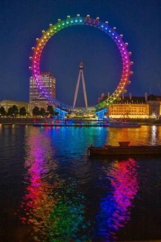 Color-The London eye, giant ferris wheel in London, England. Open in private ceremony December Open to public, March 2000 (due to technical difficulty).