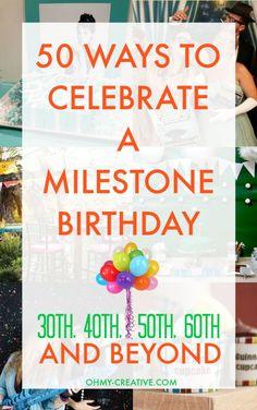 50 Ways to Celebrate