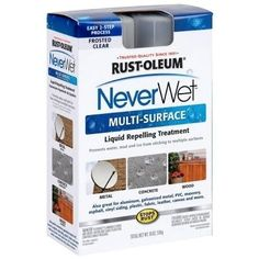 NeverWet is a waterproofing product that just became available in North American stores.