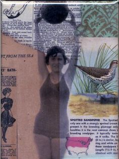 MICHELLE CAPLAN: Mixed Media Collage Artist