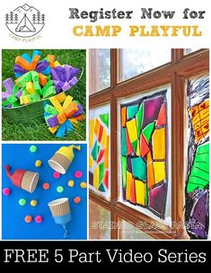 Camp Playful -- Week 2 of 5 - My kids will love this!