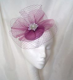Radiant Orchid Wedding treasury by Robin on Etsy // https://www.etsy.com/treasury/Njg0ODY0NnwyNzI2MDgwNjY4/radiant-orchid-wedding // Radiant Orchid Blusher Veil Crinoline Pearl by IndigoDaisyWeddings, £33.50