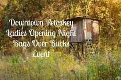 Downtown Petoskey Ladies Opening Night Bags Over Bucks Event  Friday, November 13, 2016