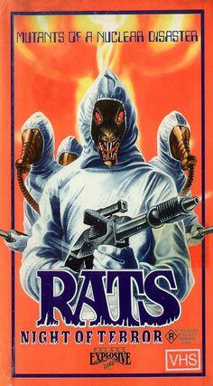 mastersofthe80s: Rats - Night of Terror (1984)