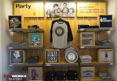 t shirt merchandising - Google Search