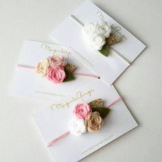 Triple rosa diadema con un toque de sensación por MagentaGinger