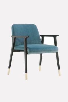 beautiful italian design armchair by Designer Luca de Bona & Darius de Meo