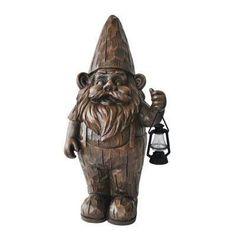 Woodland Lantern Gnome