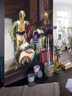 Star Wars Fototapete 'Three Droids' Lizenzartikel bunt 18…