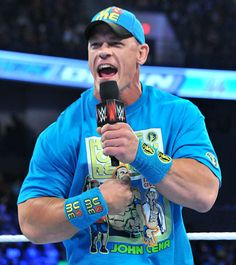SmackDown John Cena comes face-to-face with Rusev John Cena Pictures, Jone Cena, Cena Wwe, Nascar Racing, Auto Racing, Sports Celebrities, Nhl Jerseys, Royal Rumble, Free Agent
