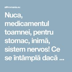 All for Romania Natural Health Remedies, Good To Know, Detox, Healthy, Apothecary, The Body, Pharmacy