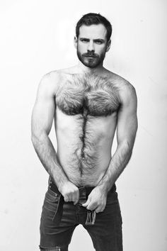 body beard.  (why does his head look photoshopped?)