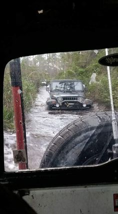 Jeep in the Water!