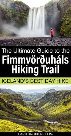 The Fimmvorduhals hike is one of Iceland's best day hikes. Learn how to hike from Skogafoss to Thorsmork with advice on how to arrange your transportation. #iceland #fimmvorduhals #skogafoss #besthike