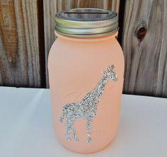 Giraffe piggy bank https://www.etsy.com/listing/278029860/giraffe-piggy-bank-mason-jar-piggy-bank