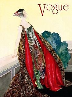 Fashion Vogue Lady Style Elegance Chic Vintage Poster Repro FREE S/H in USA | eBay