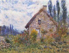 La Chaumière (C Monet),1879