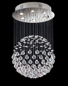 "I saw this on an HGTV ""Bang for you Buck"" in Spokane, WA and the poor girl was really harped on for having this chandelier...I personally think it's BEAUTIFUL and it was awesome in her home!"