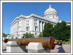 State Capitol Building, Jefferson City, Missouri
