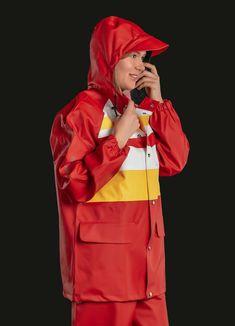 Rain Suit, Pvc Raincoat, Charles River, Workwear Fashion, Rain Wear, Unisex, Gas Masks, Catwalk, Sailor