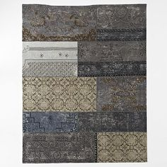 Cadiz Wool Rug - Platinum #westelm how bout this color?
