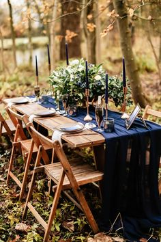 We think winter weddings are just wonderful here at Whimsical Wonderland Weddings for a few reasons. Firstly, winter is out of season and you can really save Woodsy Wedding, Wedding Table, Wedding Ideas, Outdoor Winter Wedding, Magical Wedding, Wedding Dinner, Wedding Poses, Autumn Wedding, Wedding Shoot