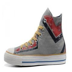 322c3bca8275 2013 New Converse Chuck Taylor All Star Shoes High Graffiti gray Red  Discount Converse