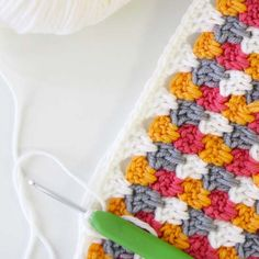 granny spike crochet stitch