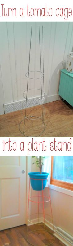 tomatoe planting Perfect tall plant stand to actually see out the window in winter! DIY tomato c. Growing Tomatoes Indoors, Growing Tomatoes In Containers, Grow Tomatoes, Tall Plants, Large Plants, Indoor Plants, Tall Plant Stands, Diy Plant Stand, Stand Tall