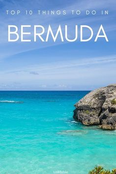 As an island in the North Atlantic Ocean, Bermuda offers amazing outdoors environments and warm, sunny weather. want to find out about the 10 best things to do in Bermuda, check out this list! Bermuda Vacations, Caribbean Vacations, Amazing Destinations, Travel Destinations, Places To Travel, Places To Go, Sunny Weather, Atlantic Ocean, Travel Abroad