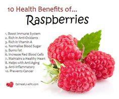 10 Health Benefits Of Raspberries!
