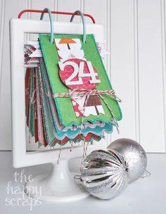 Fun & Festive Christmas Countdown - The Happy Scraps