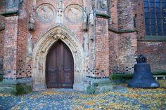 Church door in Frankfurt (Oder), Germany