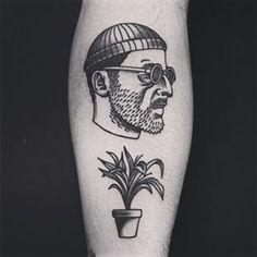Necesito este tatuaje en mi vida. #leontheprofessional #jeanreno