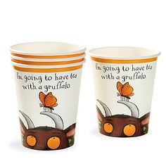 Party Ark's 'The Gruffalo Paper Cups'