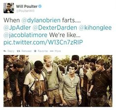 The Maze Runner cast is the best!!