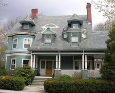 Victorian home at Abbottsford Rd, Brookline, MA