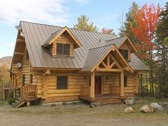 Stowe - New Log Home with great views and a quiet setting