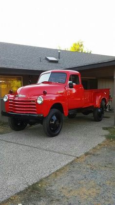 1952 Chevy 1 ton 9 'bed Coleman 4x4