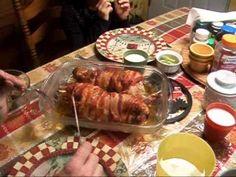 ▶ Roast Rabbit recipe - YouTube bacon wrapped rabbit - Bacon and Bunny