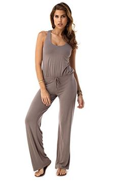37f8c765dd4 SKY Womens VARDEN Jumpsuit Taupe --    AMAZON BEST BUY