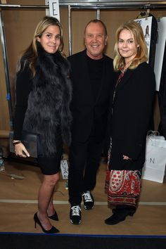 Aerin Lauder Photos - (L-R) Aerin Lauder, Designer Michael Kors, and a guest…