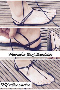 DIY Huaraches   Barfußschuhe mit Vibram Sohle   Sandalen selber machen   www.fraeuleinkassandra.blog