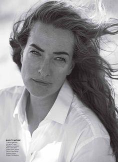 Former Victoria's Secret model Tatjana Patitz, photographed by Peter Lindberg