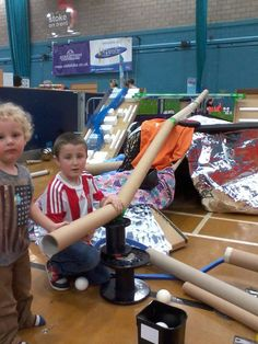 Loose parts play with the Community Scrap Shack Gloucestershire Resource Centre http://www.grcltd.org/scrapstore/