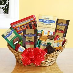 California Delicious Ghirardelli Chocolate Gift Collection Send The Best Of San Franciscos Famous Chocolatier