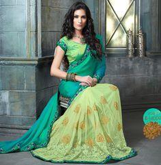 New In Sarees Designs : SHOP NOW @ www.lushika.com  #sari #saree #lushika #indian #wedding #fashion #design #style #outfit #ideas #bride #bridalparty #bridesmaids #gorgeous #vibrant #elegant #blouse #desistyle #shaadi #designer #inspired #beautiful #musthave #bollywood #southasain