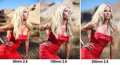 "How to Photograph Tip: Depth of Field as a Creative Tool | Photo By: Jay P. Morgan with a slanted lens | ""In today's Slanted Lens lesson we will take a look at depth of field as a creative tool while shooting some fashion shots on location at Vasquez Rocks. We will use a simple 2 light set up to shoot beautiful Gabrielle Tuite and look at how different lens focal lengths give us different depth of field options. 